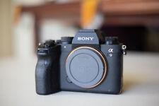 Sony Alpha a9 II Mirrorless Digital Camera, 4 batteries (9671 Actuations)