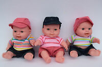 22CM TALKING DOLL LOVELY MAMA PAPA BABY DOLL REAL LIFE LOOKING TRACKSUIT CLOTHES