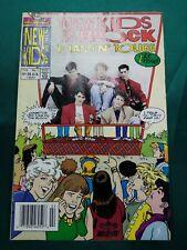 THE NEW KIDS ON THE BLOCK HANGIN' TOUGH #1 FEBRUARY 1991 HARVEY ROCKOMICS