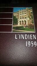 Vintage Indiana Joint High School Pennsylvania 1959 L'Indien Yearbook Annual HS