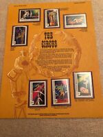 The Circus World Of Stamps Collectible Series Sheet,MNH,Mongolia,limited Edition