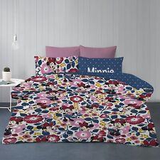 Minnie Mouse - Disney - Garden - Queen Bed Quilt Doona Duvet Cover Set