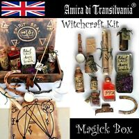 witchcraft box kit starter ritual magic wicca pagan altar witch spell curse lot