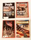 Operation Desert Storm Gulf War Magazine Lot of 4