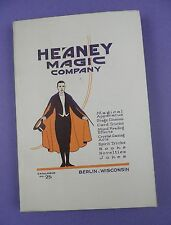 Original 1924 Heaney Magic Company - 224 Page Catalogue - Tricks, Illusions etc.