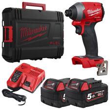 Milwaukee M18 FID2-502X Screwdriver ad Pulses Brushless ¼″ Hexagonal 18V 5.0Ah