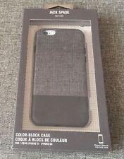 Jack Spade New York iPhone 7 case Grey/Black - Kate Spade