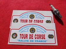 Pair of Tour de Corse stickers