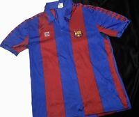 Vintage Fc Barcelona Meyba Shirt 80s Soccer Jersey Barça football camisa