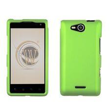 Rubberized Hard Case for LG Lucid VS840 - Green