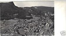 Suisse - cpsm - VALLORBE et la dent de Vaulion - Vue aérienne