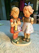 """Hummel Figurine - Knitting Lesson - #256 - Tmk 4 - 7"""" Tall - Mint - Hum16"""