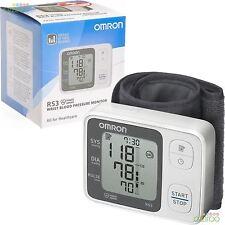 OMRON RS3 INTELLISENSE automatico digitale da polso pressione sanguigna monitor dispositivo NUOVO