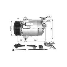 NRF 32426 Kompressor Klimaanlage EASY FIT für OPEL ASTRA G H ZAFIRA A B C