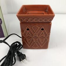 Scentsy Warmer Savoy Full Size Brick Red In Box Discontinued Retired 2010