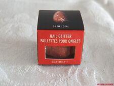 New GOSH Nail GLITTER 04 Fire Opal ~So Glamerous! Fab Sparkling Glittering Nails