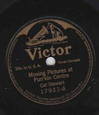 Cal Stewart, Charles Ross Taggart – 78 rpm Victor 17931 Moving Pictures