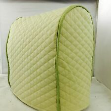 Sage Quilted Double Faced Cotton Kitchenaid Lift Bowl Cover