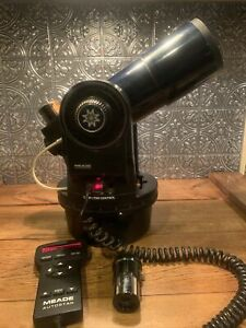 Meade ETX-60AT REFRACTOR TELESCOPE with Autostar Eyepieces And Controller