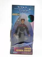 1997 Star Trek Playmates Captain Janeway 9in Warp Factor Series 2 Figure in Box