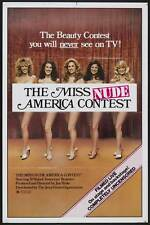 MISS NUDE AMERICA Movie POSTER 27x40