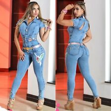 Colombian Jumpsuit-Enterizo! New Collection Size:1/2,3/4,5/6,7/8 USA