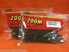 "ZOOM 6.5"" Trick Worm (20cnt) #006-120 Watermelon Candy (2 PCKS)"