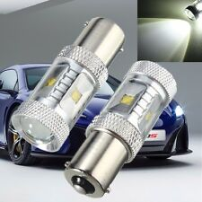 2x 30W 1156 BA15S P21W Led Sauvegarde Feu Canbus Light Anti Erreur 6000K Lampe