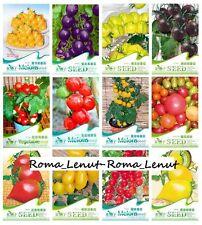 150 Tomatensamen-(30 Sorten)- Cherokee+Lila+Schwarz+Rot+Gelb+Grün - Bio-100% -!
