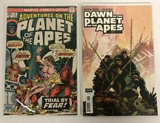 Adventures on the Planet of the Apes 4 + Dawn on the Planet of the Apes 1 Comics