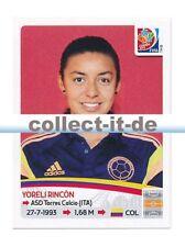Panini Frauen WM World Cup 2015  - Sticker 452 - Yoreli Rincon