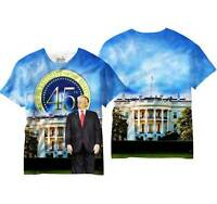 Donald Trump 45th President United States USA Mens Sublimation Shirt V60131MT
