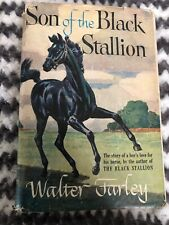 Vintage 1947 Son Of The Black Stallion HC Book DJ by Walter Farley Random House