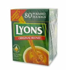 Lyons Tea 80 x 4 Box,320 Lovely Teabags.Exp03/2019,delivery in 3-4 business days
