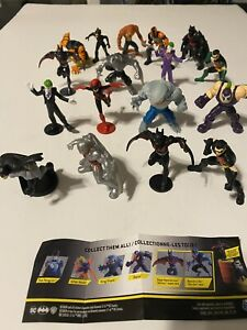 Spin Master Batman DC Universe Mini Figures 2 Waves 17 Different Figures