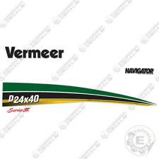 Vermeer D24x40 Series 2 Navigator Directional Boring Horizontal Drill Decal Kit