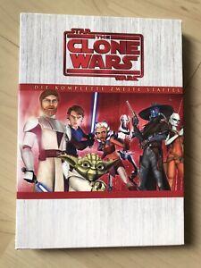 DVD Star Wars The Clone Wars - Komplette Zweite Staffel 2 Season 2 - 4 DVD`s