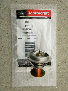 FORD F5OY-8575-A F5OY8575A MOTORCRAFT RT-1110 ENGINE COOLANT THERMOSTAT OEM NEW