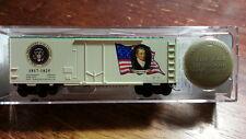 Micro Trains 07400105 JAMES MONROE PRESIDENTAL  40' Boxcar #1817-1825 + Pin