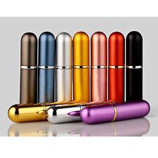 Aluminio Mini Recargable Perfume Botella Vacío Rociar Atomizador Portátil Viaje