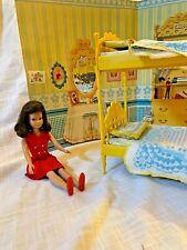 Skipper Doll & 1964 Vintage Skipper N' Skooter Bunk Beds Go Together Furniture