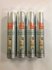 4 X Trial Size Sally Hansen Airbrush Makeup Foundation ( NO COLOR ) Most Skins.