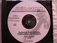 2000 OEM SEADOO DEALER SERVICE MANUAL PUBLICATION CD