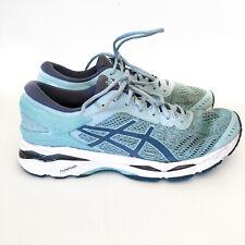 ASICS Womens Gel Kayano 24 Running Shoes Sneakers Blue/Aqua T709N Sizez US 10