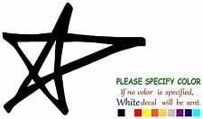 Avril Lavigne Star Adhesive Vinyl Decal Sticker Car Truck Window Bumper 12""