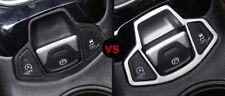 1pcs Matte Electronics Handbrake button Cover Trim  for Jeep Compass 2017 2018