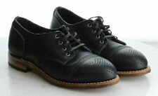 56-71 Men's Size 6B Red Wing Shoes Black Leather Wingtip Derby