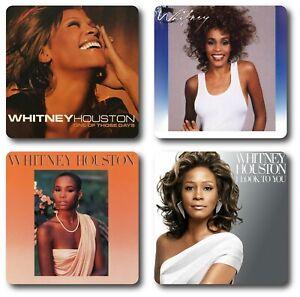 Whitney Houston Coasters 4 Piece Coaster Set