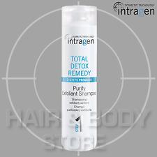 SHAMPOO PURIFY EXFOLIANT deterge e purifica TOTAL DETOX REMEDY INTRAGEN 250ml