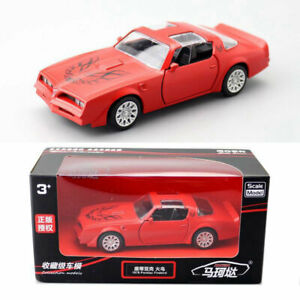 1:36 1978 Pontiac Firebird Model Car Diecast Toy Vehicle Kid Collection Gift Red